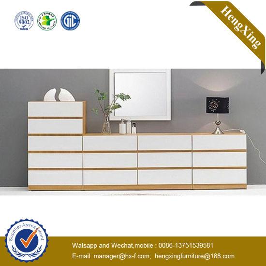 ISO9001 Executive Veneer Polic Traditional HPL Walnut Home Furniture (UL-MFC051)