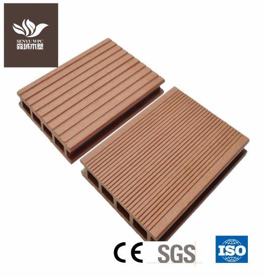 Anti-Slip Building Material WPC Decking Board Wood Plastic Composite Flooring