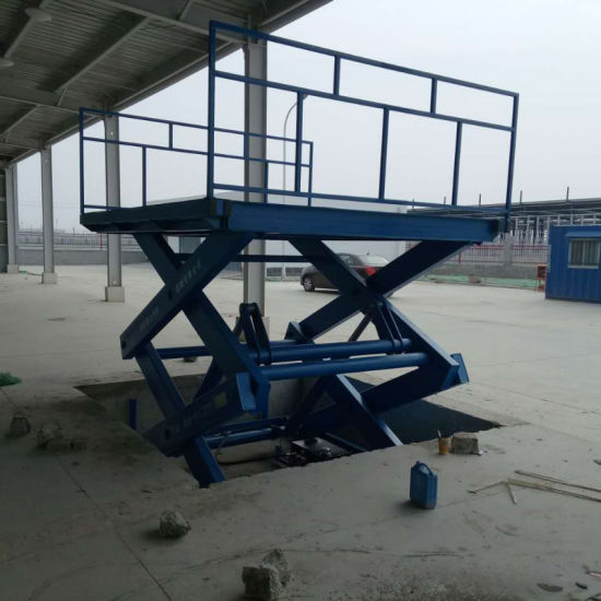Scissor Cargo Lift- Static Hydraulic Scissor Car Lift Price, Scissor Car Parking Lift