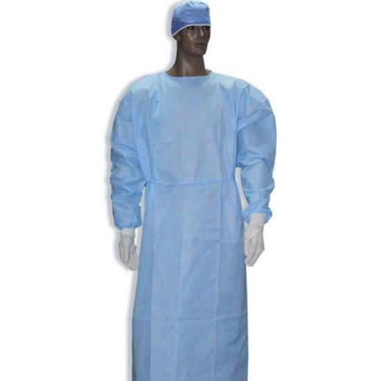 Disposable Surgical Gown SMS Non Woven Surgical Gown Disposable Sterile Surgical Gown