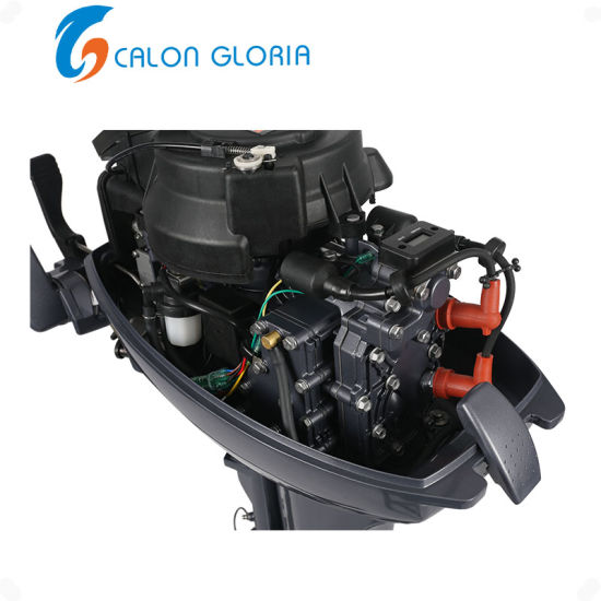 2 Stroke High Quality Boat Outboard Motor 15HP China Manufacturer