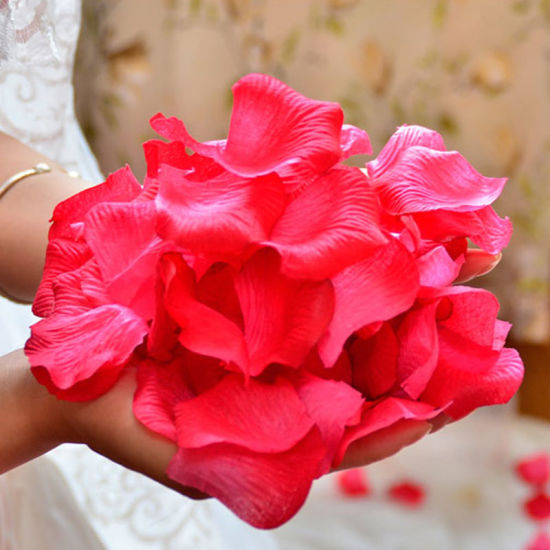 Cheap Artificial Rose Petals for Weddings Marriage