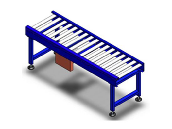 Double Roller Chain Conveyor for Logistic Warehousing System pictures & photos