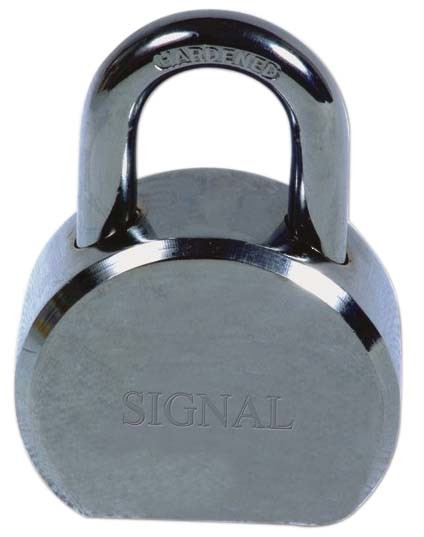 Secure Anti-Violence Chrome Waterproof Round Security Steel Padlock pictures & photos