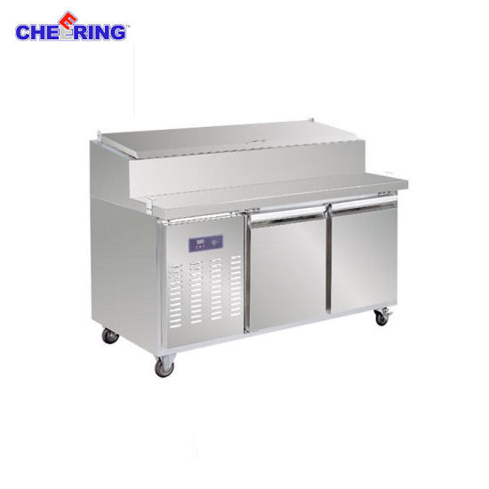Cheering Stainless Steel Pizza Refrigerated Workbench pictures & photos