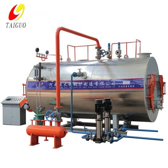 Steam Gas Boiler China Manufacturer Taiguo Boiler 0.5/1/2/3/4/5/6 Ton Industrial Boiler