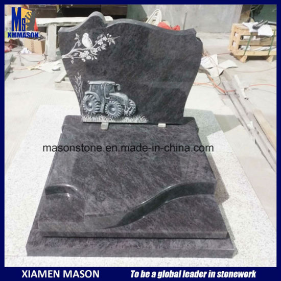 France Monument En Mass Blue with Carving pictures & photos