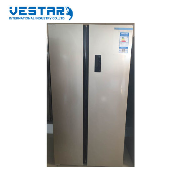 Hot Selling Refrigerator with Red Shine Glass Door From China Professional Suppliers pictures & photos