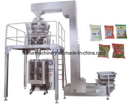Automatic Vertical Sesame/Sugar/Bean Weighing Filling Bagging Packaging Packing Machine