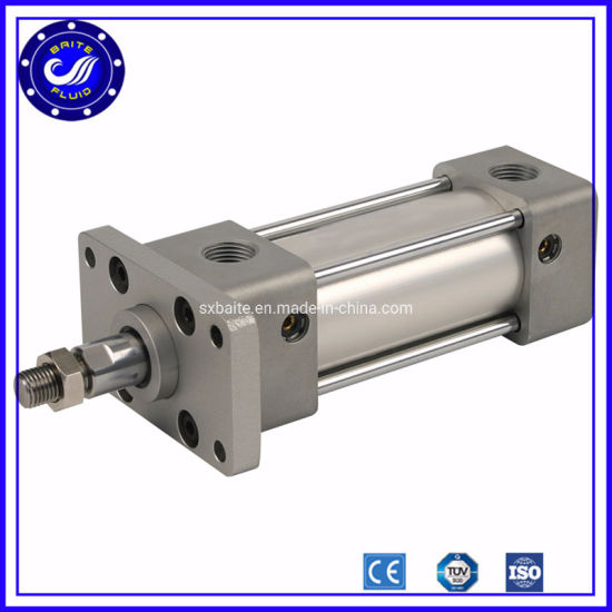 Long Stroke 125mm Bore 1200mm Stroke Customized Double Acting Air Pneumatic Cylinder