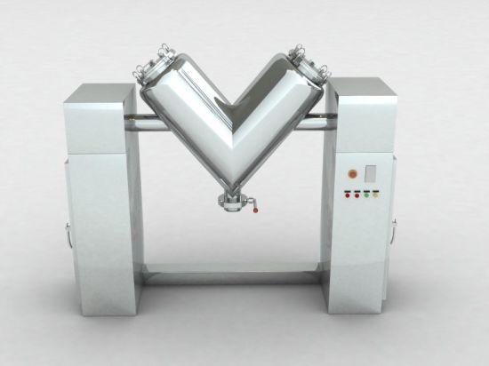 V Type Dry Granule Powder Blender Mixer