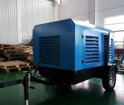 Atlas Copco Portable Diesel Air Compressor Machine pictures & photos