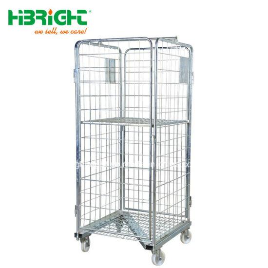China Heavy Duty Storage Trolleys Warehouse Trolley Roll