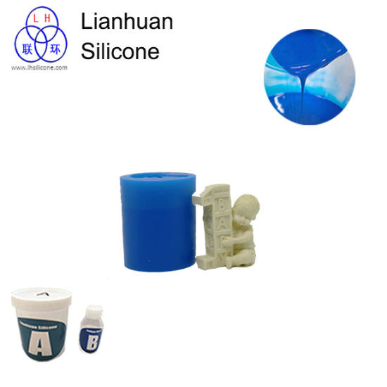 10shore a Liquid Silicone Rubber for Good Pouring Year Baby Birthday Candle Silicone Mould