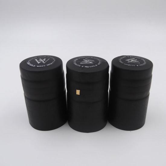PACK OF 100 BLACK INCLUDING DELIVERY!! WINE BOTTLE SHRINK CAPS//CAPSULES