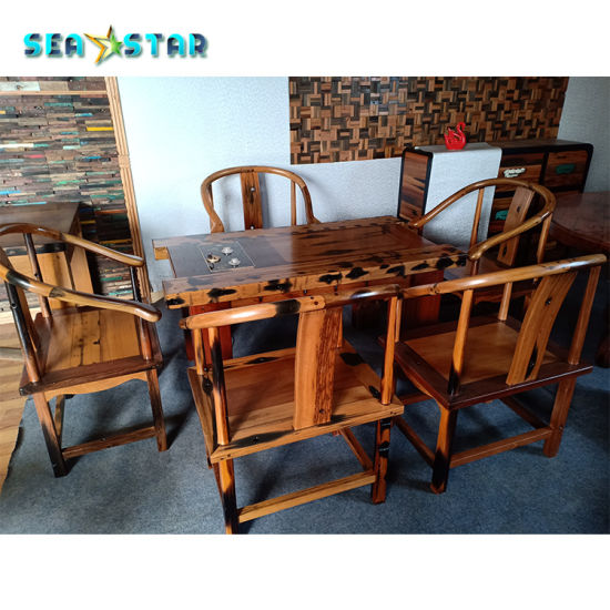 Chinese Classic Style Teak Wood Sofa Furniture Factory Made Living Room Furniture China Furniture Table