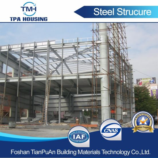 Latest Multi-Storey Steel Structure Construction Office Building for Sale pictures & photos