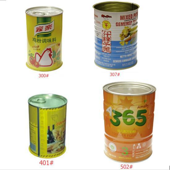 401# Standard Size Tin Round Can with Easy Open Lid pictures & photos