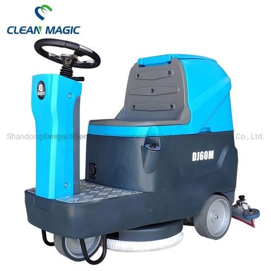 Clean Magic DJ60m Floor Cleaner Washing Machine with High Pressure Brush