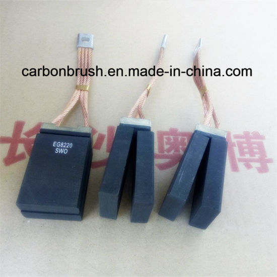 Hot Selling Impregnation Electro Graphite Carbon Brush EG8220 pictures & photos