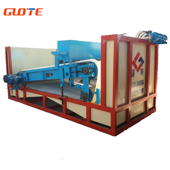 Power Saving High Intensity Wet Type Permanent Magnetic Separator for Slurry