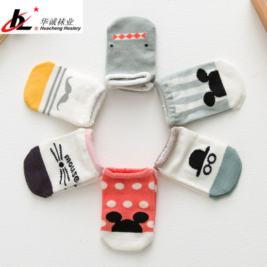 30b8bab51cf Custom Cotton Cute Baby Socks Wholesale Newborn Infant Toddler Kids Soft  Sock