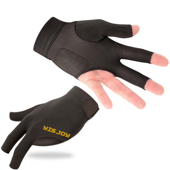 Leather Cycling Gloves Cut Finger Cycle Mitts Gloves Size S-M,L-XL