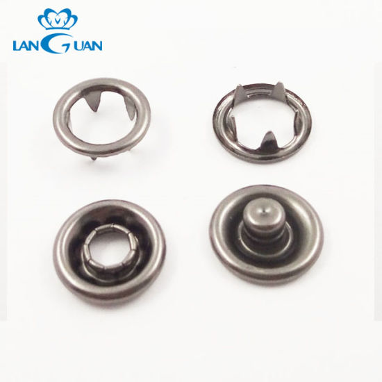 Jacket Four Parts Spring Snap Button for Clothing