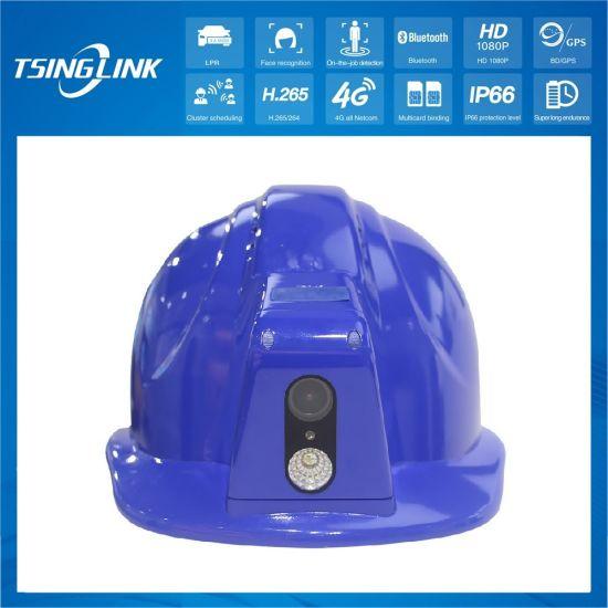 ABS Industrial Construction 4G Intelligent Safety Helmet