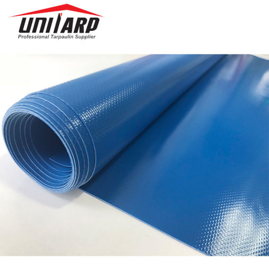 18oz 100% Polyester Fabric Roll Vinyl Tarp PVC Coated Tarpaulin