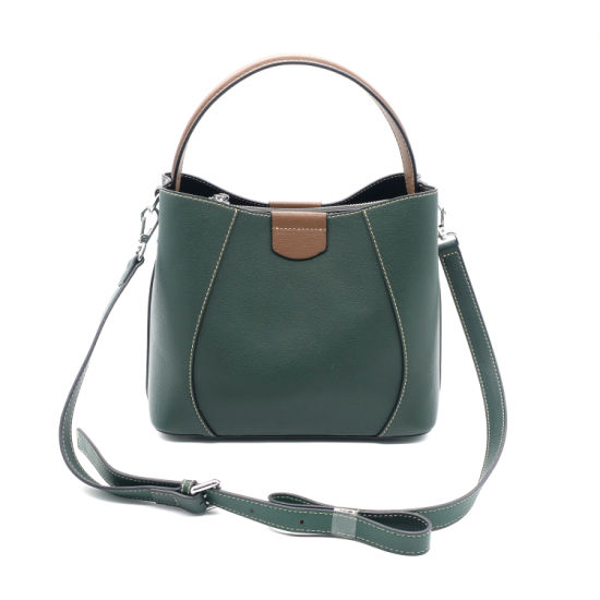 bc013345e9 2019 New Arrival PU Leather Handbag Women Designer Handbag Shoulder Bucket  Bag pictures   photos