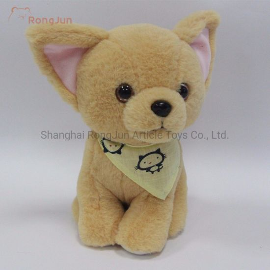 Small Cute Decorated Plush Dog pictures & photos