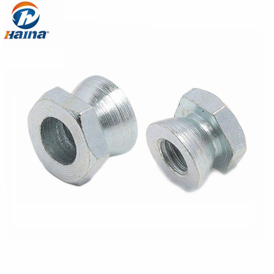 White Zinc Plated Stainless Steel Security Shear Nut M6 Pictures Photos