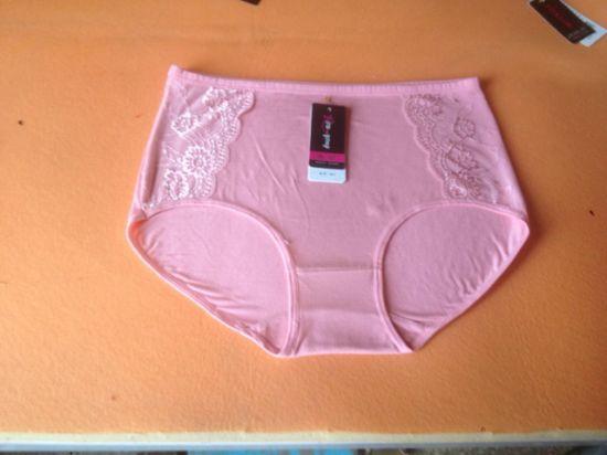 Lady's Underpants 95%Cotton/5%Spandex Laced Women's Boxers Short Underwears