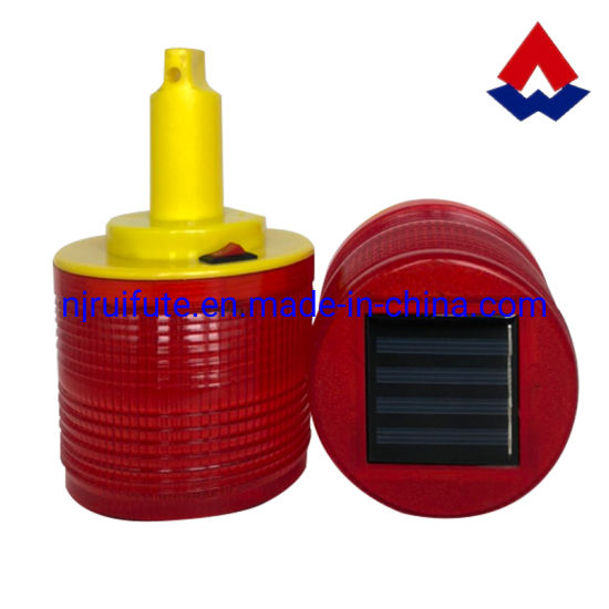 Solar Traffic Cone Flashing Warning Light with Ce Certificate