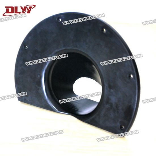 Molded Silicone EPDM FKM Neoprene Rubber Bellows with Flange