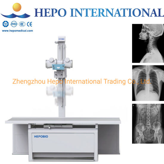 Hospital Popular 500mA Stationary Medical Imaging X-ray System (HP-HFX500B) pictures & photos
