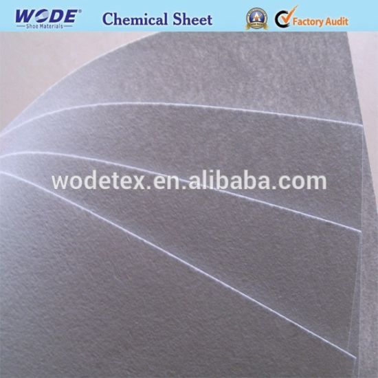 2019 New Nonwoven Stiffner Chemical Sheet for Shoe Toe Puff and Counter