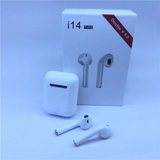 I14 Tws V5.0 True Headphones Wireless Stereo Earbuds Touch Control Wireless Earphone I14 Tws