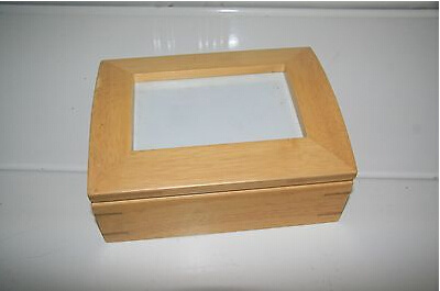 Wood Photo Box With Frame Lid For Storage China Wooden Boxes