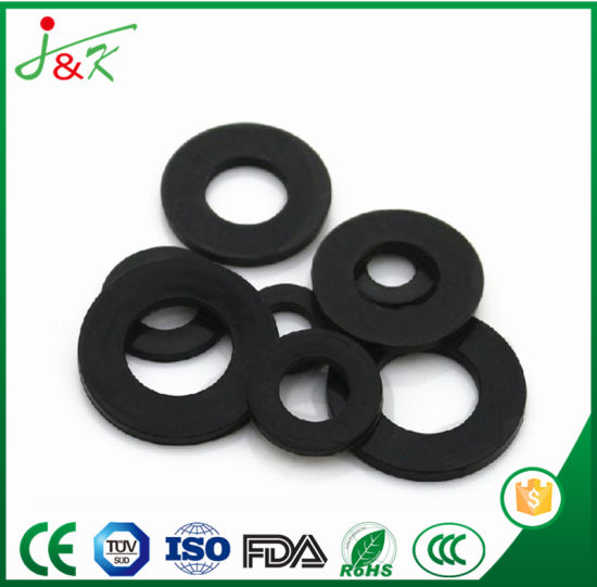 China Custom Molded EPDM Rubber Gasket Washer for Seal - China