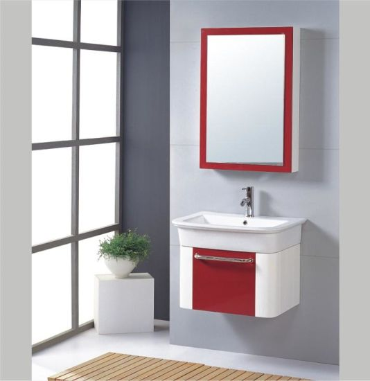 Modern Bath Vanity / Mirrored Bathroom Cabinets / Bathroom Furnitures (TH0703)