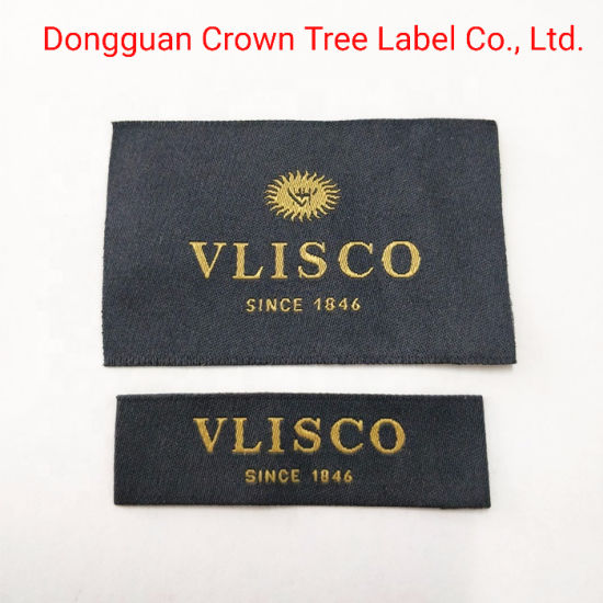 Top Selling---- Woven Label End Folded for Sweater / Jacket / Coats