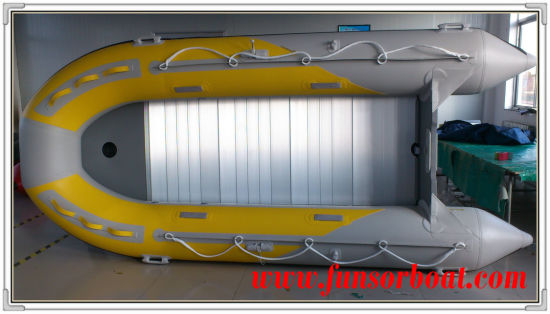 4.3m Inflatable Sport Boats with Aluminum Floor pictures & photos