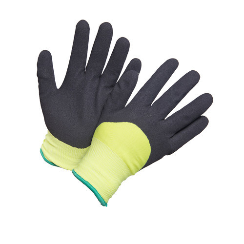 Cold Resistant Warm Winter Safety Work Glove with Sandy Finished
