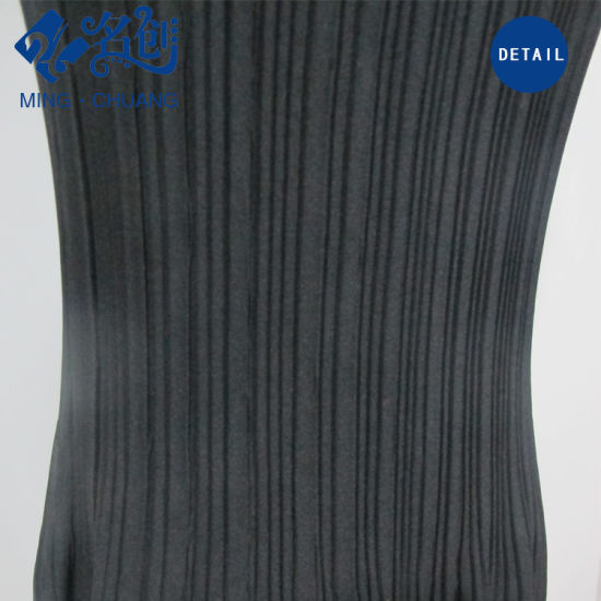 Newstyle Black Pleated Strips Slim Sexy Fashion Summer Women Dress pictures & photos