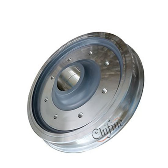 Mining Large Double Flanged Forged Steel Crane Traveling Railway Train Wheels