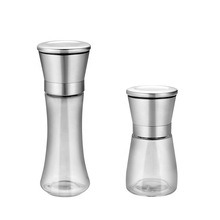 Wholesale Seal Stainless Spice Jar Glass with Grinder Kitchen Glassware pictures & photos
