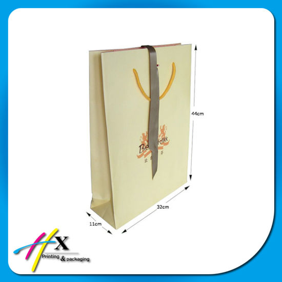 Simple Style Custom Design Paper Cloth Shopping Bag pictures & photos