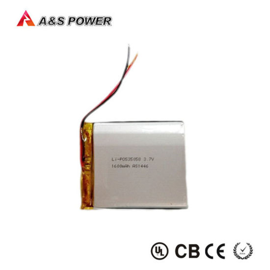 535058 3.7V 1600mAh Lipo Battery Rechareable with PCB pictures & photos